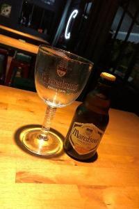 La Maredsous, bière blonde brassée, haute fermentation, Brue-Auriac