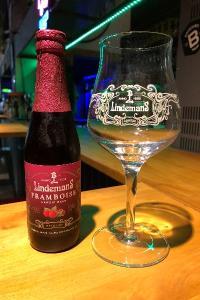 La Lindemans Framboise, goût fruité, note de caramel, Brue-Auriac