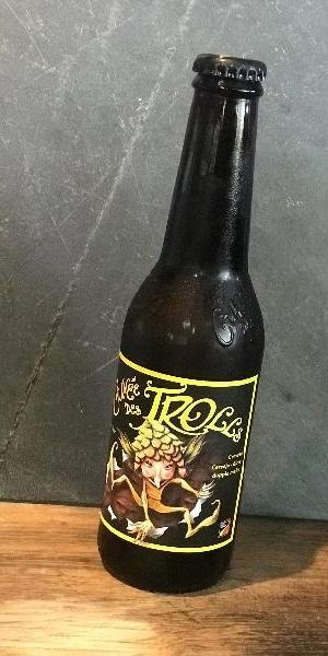 La Cuvée des Trolls, bière blonde artisanale aux arômes d'oranges