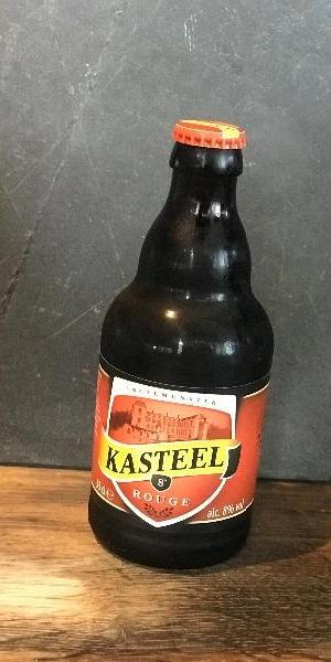 La Kaastel rouge, bière fruitée aux fruits rouges très légère