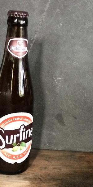 La surfine, bière brassée avec 3 types de levures et houblons