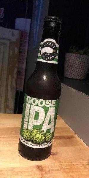La Goose IPA, véritable bière Américaine au caractère houblonné